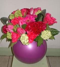 Globe Vase VS001