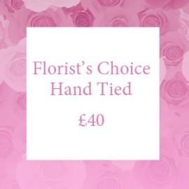 Florist's Choice Hand Tied
