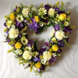Florist's Choice Funeral Heart
