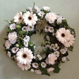 Florist's Choice Funeral Wreath